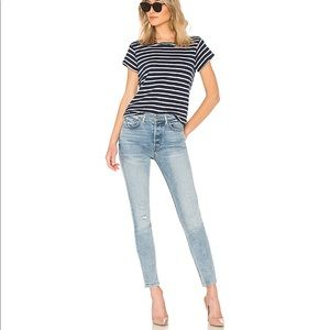 Grlfrnd size 30 jeans skinny blue GO LOW high rise
